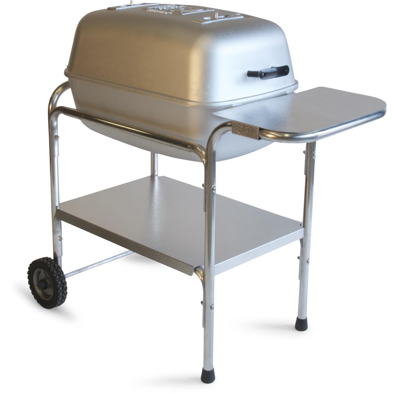 Charcoal: PK 99740 Cast Aluminum Charcoal Grill & Smoker