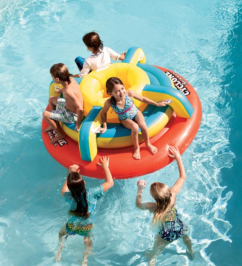 Inflatable Cyclone Spinner Pool Float